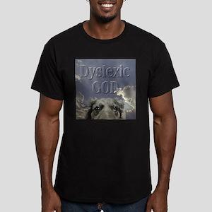 Dyslexic Men's Fitted T-Shirt (dark)