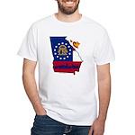 ILY Georgia White T-Shirt