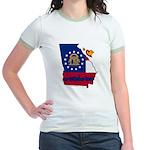 ILY Georgia Jr. Ringer T-Shirt