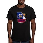 ILY Georgia Men's Fitted T-Shirt (dark)