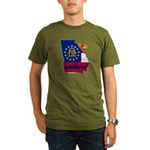 ILY Georgia Organic Men's T-Shirt (dark)