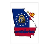 ILY Georgia Postcards (Package of 8)