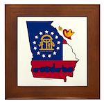 ILY Georgia Framed Tile