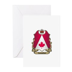 Canadian Gifts Greeting Cards (Pk of 10)