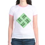 Green is the New Fascism Jr. Ringer T-Shirt