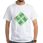 Green is the New Fascism White T-Shirt