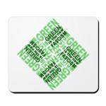 Green is the New Fascism Mousepad