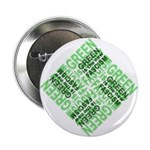 """Green is the New Fascism 2.25"""" Button"""
