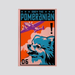 Obey the Pomeranian! Propaganda Magnet