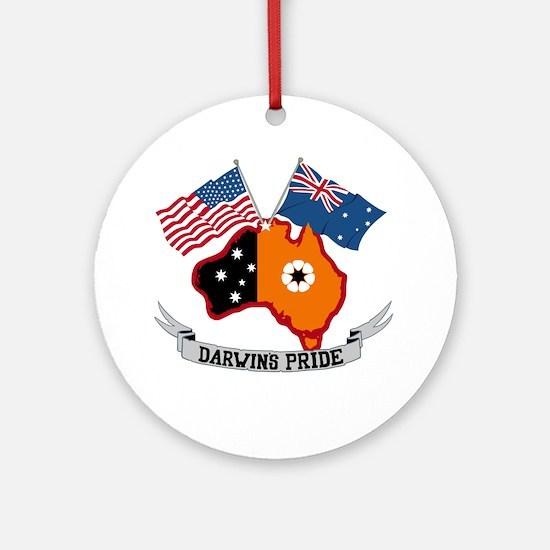 Darwin's Pride Ornament (Round)
