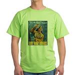 Till We Meet Again (Front) Green T-Shirt