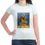 Till We Meet Again (Front) Jr. Ringer T-Shirt