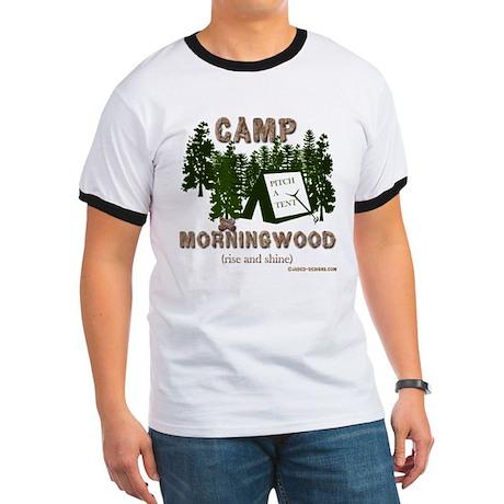 Camp Morning Wood Adult Ringer T