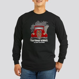 Funny Roadkill Long Sleeve Dark T-Shirt