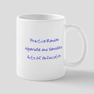 Hyperbole & Obfuscation Mug