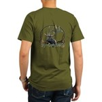 bp-Outdoors Buck Logo Organic Men's T-Shirt (dark)
