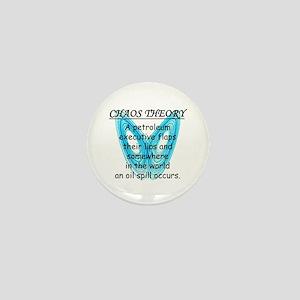 Chaos Theory - Oil Spill Mini Button
