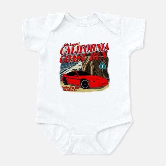 6th Annual California Coast R Infant Bodysuit