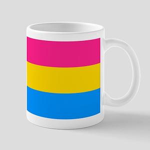 Pansexual Flag Rectagular Mugs