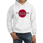 Just Assume I Know Karate Hooded Sweatshirt