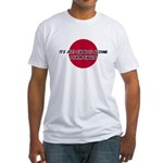 Just Assume I Know Karate Fitted T-Shirt