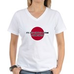 Just Assume I Know Karate Women's V-Neck T-Shirt
