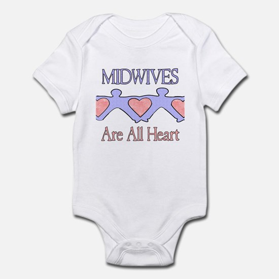 Midwives Are All Heart 2 Infant Creeper