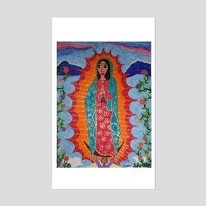 Our Lady of Guadalupe Sticker (Rectangle)