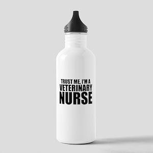 Trust Me, I'm A Veterinary Nurse Water Bottle