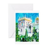 HOuse of The Sun King Greeting Card