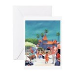 Baby's Day At The Beach Greeting Card
