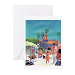 Baby's Day At The Beach Greeting Cards (Pk of 20)