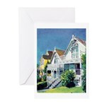 Victorian Cottages Greeting Cards (Pk of 10)