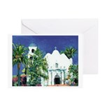 Church - Old Town San Diego Greeting Cards (Pk of