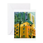 Little Italy Towers Greeting Card