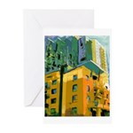 Little Italy Towers Greeting Cards (Pk of 20)