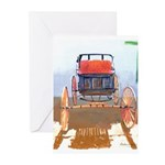 Old Buggy Carriage Greeting Cards (Pk of 20)