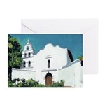 Mission San Diego Greeting Cards (Pk of 20)