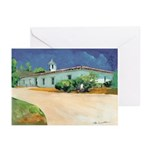 Adobe House by Riccoboni Greeting Cards (Pk of 10)