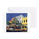 Fifth Ave by Riccoboni Greeting Card