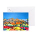 Road to Borrego Springs Greeting Card