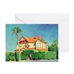 Victorian House by Riccoboni Greeting Cards (Pk of