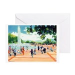 Fountain by Riccoboni Greeting Card