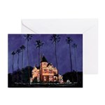 December Nights San Diego Greeting Cards (Pk of 10