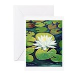 Riccoboni Water Lily Greeting Cards (Pk of 10)