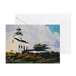 Lighthouse by Riccoboni Greeting Cards (Pk of 10)
