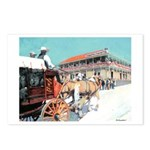 Stagecoach by RD Riccoboni Postcards (Package of 8