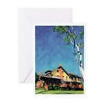 Marston House by Riccoboni Greeting Card
