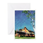 Marston House by Riccoboni Greeting Cards (Pk of 2