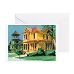 Heritage Park Old Town San Diego Greeting Cards (P